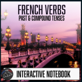 French Interactive Notebook - Foldables - Past & Compound