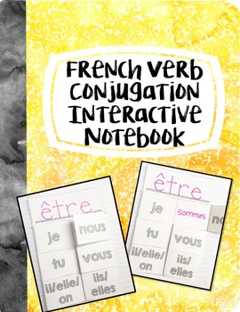 French Verb Conjugation Interactive Notebook