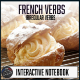 French Interactive notebook - Foldables - Irregular verbs