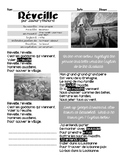 French Interpretive Reading & Listening activity: REVEIL, ACADIENS, CAJUNS
