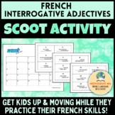 French Interrogative Adjectives Scoot! [Les adjectifs interrogatifs]