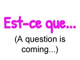 French Interrogative Expressions Posters - French Question Words Posters