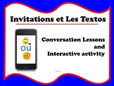 French Invitations and Texting Mini Unit