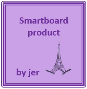 French Irregular Present tense verbs for Smartboard