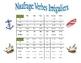 French Irregular Verb Practice Activity (Shipwreck-Naufrage)