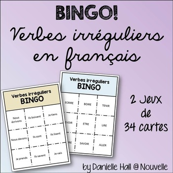 French Irregular Verbs BINGO!
