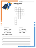 French Irregular Verbs Puzzles Bundle