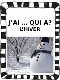 "French: L'HIVER, ""J'AI ... QUI A?"", Game, Core & Immersion: PRIMARY"