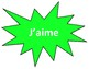 4 Corners Posters (J'aime) - French activities
