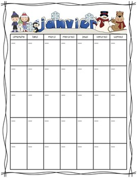 French January Activity Pack