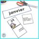 French January Calendar Cards | Janvier
