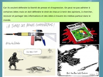 Freebie French Je suis Charlie, tolerance et respect