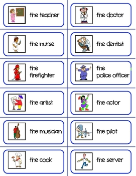 French - Jobs Flashcards
