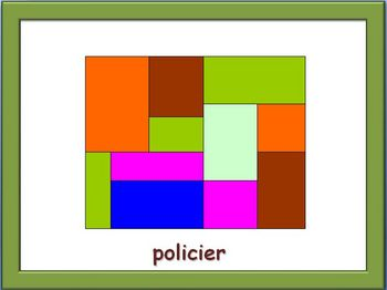 French Jobs and Professions Powerpoint (Activities and Games)