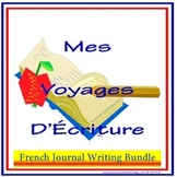 French Journal Writing Bundle