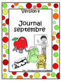 French Journal Writing Prompts Worksheets - Version 4