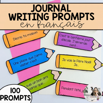 French Journal Writing Prompts (over 100 prompts!)
