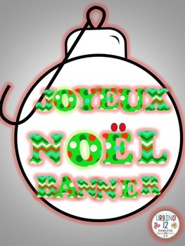 French: Joyeux Noël Banner