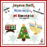 French Christmas Play: Joyeux Noël, Hanoucca et Kwanzaa