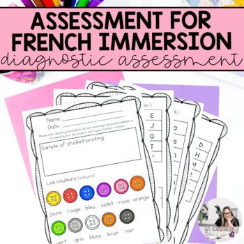 French Kindergarten/Grade One Assessments