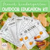 French Kindergarten Outdoor Education Kit!