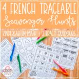 French Kindergarten Traceable Scavenger Hunts // Outdoor Math & Literacy