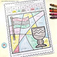 French Kwanzaa Worksheets Color by Sound | Kwanzaa French Phonics Practice