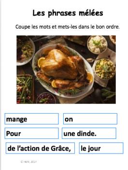 French: L'automne: 20 Activités, Langage, écriture, math, bricolage: NO PREP!