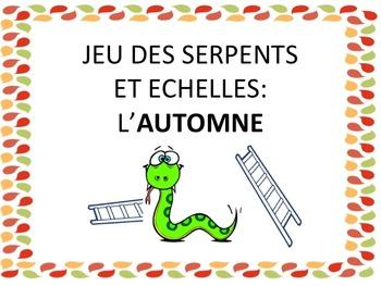"""French: """"L'automne: Serpents et échelles"""", Game, Core & Immersion"""
