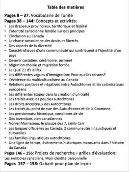 French: L'expérience canadienne, Sciences sociales, Gr.6, 158  slides