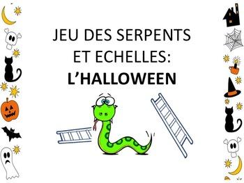 """French: """"L'halloween: Serpents et échelles"""", Game, Core & Immersion"""