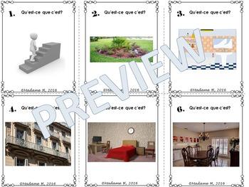 La Maison Task Cards