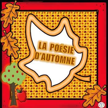 French Poésie Dautomne By Urbino12 Teachers Pay Teachers