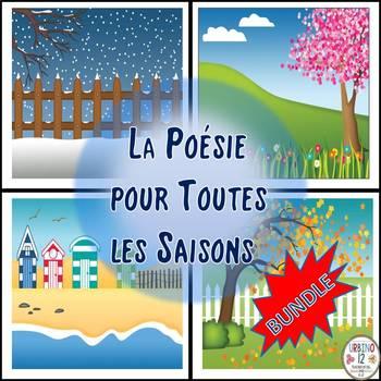 French: La Poésie pour Toutes les Saisons  BUNDLE