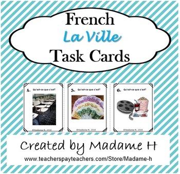 La Ville Task Cards