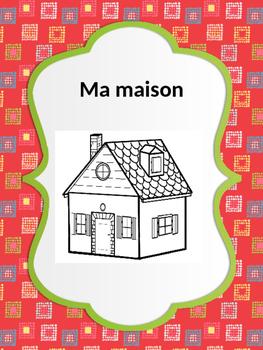 French: La maison & ses objets, Cartes éclairs, Core & PR