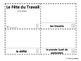 French Labor Day 2 Emergent Reader Booklets - Le Fête du Travail