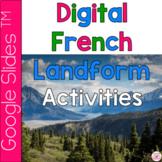 French Landforms Google Slides Activities