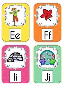 French Language Alphabet Cards