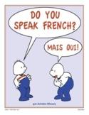 French Language II: Beginner-Intermediate. Gr. 6-9. 60 vid