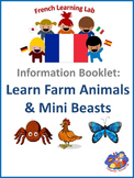 French Information booklet - Use Farm Animals & Minibeasts