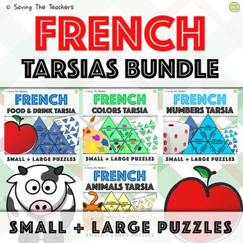 #betterthanchocolate French Language Skills Tarsia Puzzles Bundle
