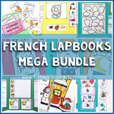 French Lapbooks MEGA Growing Bundle includes French Phonics Lapbooks