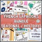 French Lapbooks Seasonal and Holidays Bundle