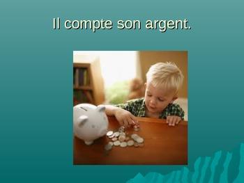 French - L'argent - Money vocabulary