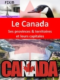 French: Le Canada: Ses provinces, territoires et capitales