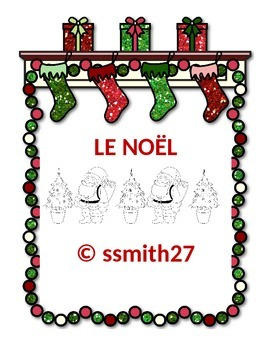 Le Noel : French Christmas Activities