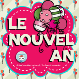 French New Year's Activity | Le Nouvel An | La nouvelle année 2019