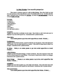 French - Le Petit Nicolas - Writing Assignment