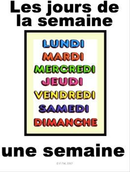 "French: ""Le calendrier"", Cartes éclairs & activités, French Core & Immersion"